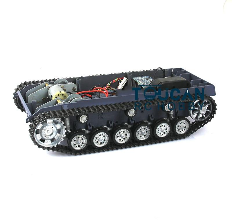 HengLong 1/16 Scale German Stug III RC Tank 3868 Chassis W/ Metal Tracks Wheels цена