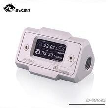 Bykski B-TFC-X, цифровой дисплей расходомер воды, монитор потока в режиме реального времени, система охлаждения Аномальная сигнализация
