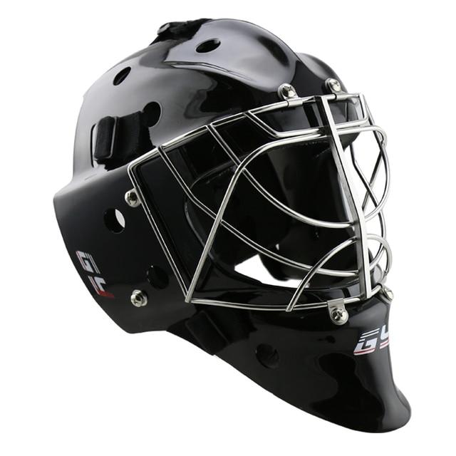 Full Combo Cage Ice Hockey Goalie Goalkeeper Helmet Black Type