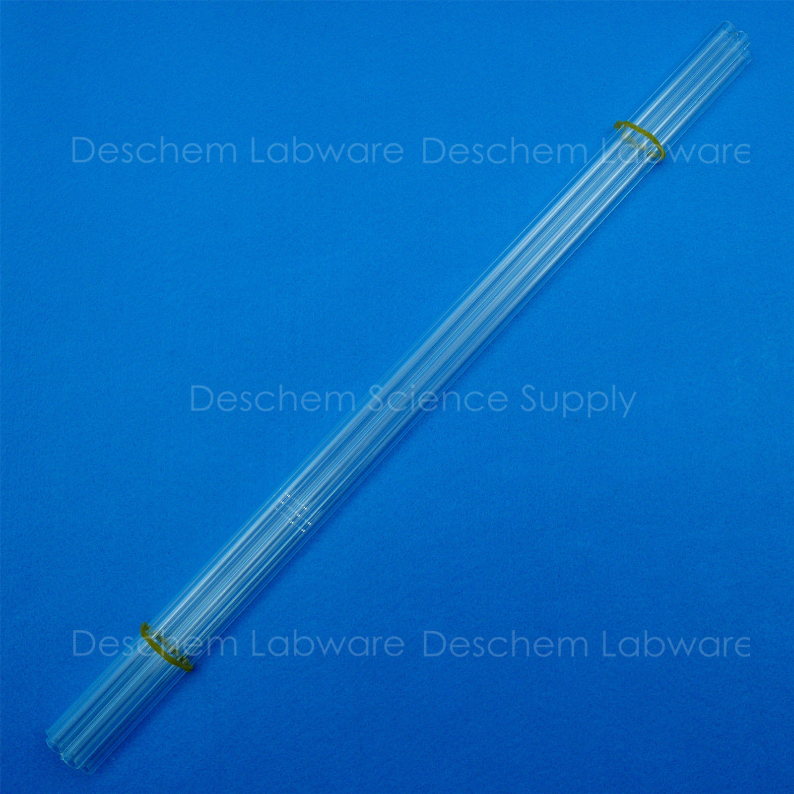 Glass  14//23 outer//female ground joint heavy wall group of 10 pcs.