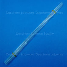 5PCS 500mm,Quartz Glass Tube,OD=12mm,Thcik=2.0mm,Made Form Fused Silica(China)