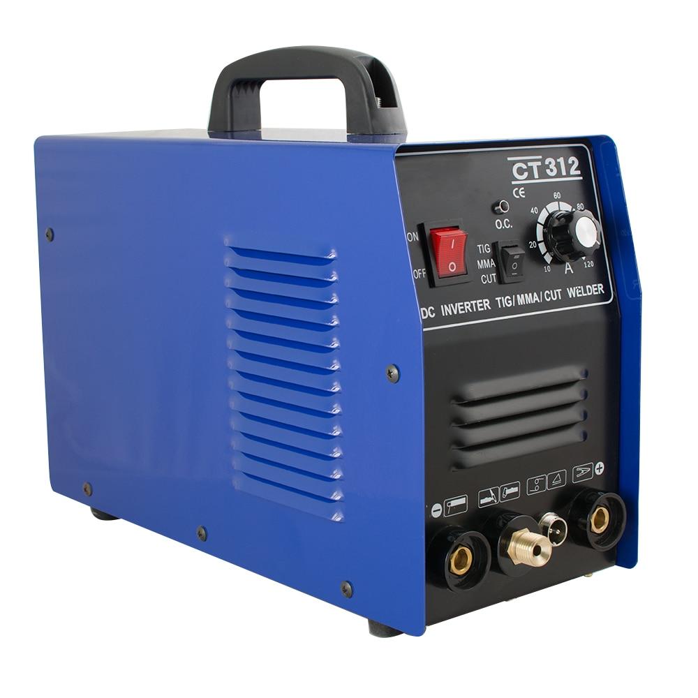 3 in 1 CT312 TIG/MMA Air Plasma Cutter Schweißer Schweißen Fackel Maschine 110V
