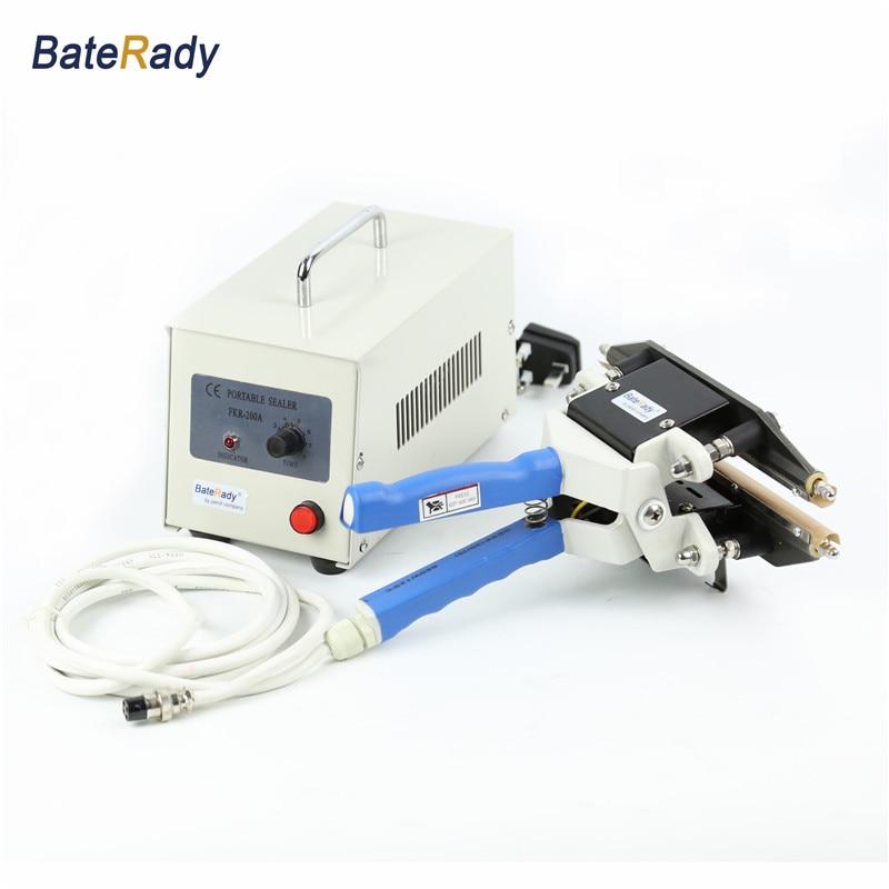 FKR 200A 300A 400A Hand held Impulse sealer LDPE Plastic bag sealer kraft paper bag heat