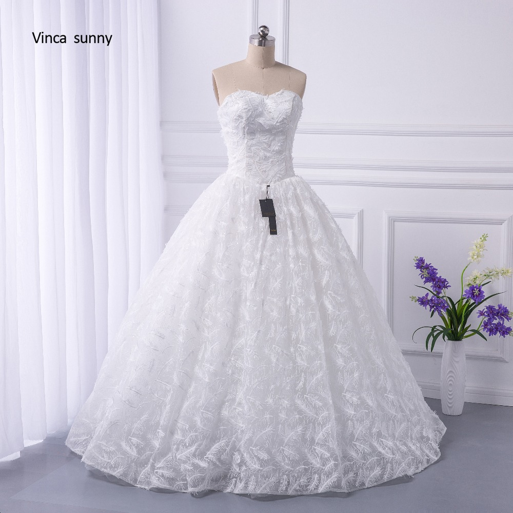 Vinca Sunny Real Pictures Ball Gown Bridal Dress Vintage