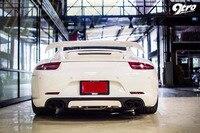 2015 Carrera TA Style Aileron Arrière 991 Tronc Spoiler Aile 911 Cas Pour Porsche Tuning Pièces 2013 2014 2016