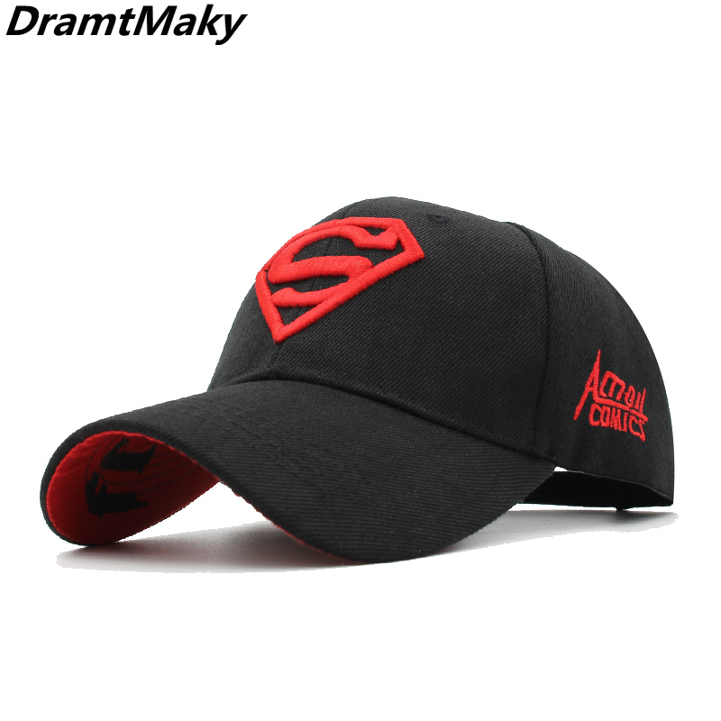 Bone Snapback Baseball-Cap Trucker-Hat Hip-Hop-Cap Dad Hat Superman Brand Gorros Wholesale