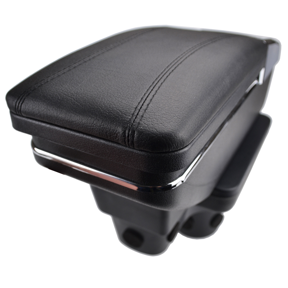 Image 4 - For Hyundai Solaris 2 / Accent / Verna 2017 2018 Center Centre Console Storage Box Armrest Arm Rest Rotatable-in Armrests from Automobiles & Motorcycles