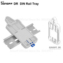 Mounted-Rail-Case-Holder Track-Kit Din-Rail-Tray Sonoff-Mounted Switchboard Solution