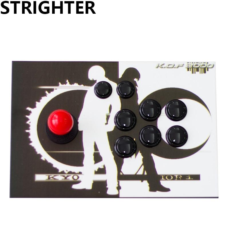цена на kyo arcade joystick black pc controller computer game King of fighters Joystick Consoles