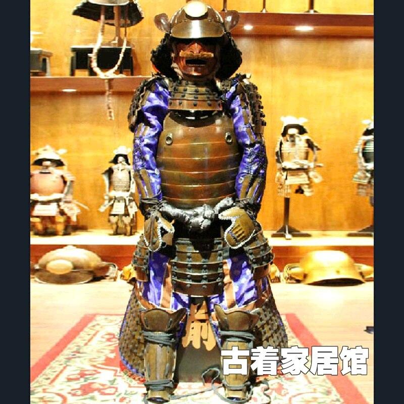 Я могу носить японские доспехи/домашнего интерьера украшения ремесла украшения/бронированная модель подарочной коллекции