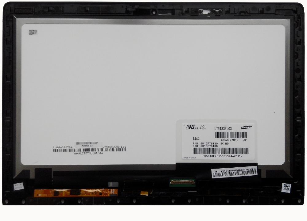 13 3 LTN133YL03 3200x1800 eDP font b Laptop b font Touch Screen Lcd Assembly 73049518 For