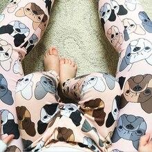 Одинаковые комплекты одежды для мамы и дочки; Штаны для всей семьи; брюки с принтом животных для мамы и дочки; одежда «Мама и я»