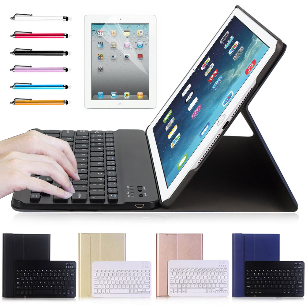 2 in 1 Removable wireless Bluetooth Keyboard + PU Leather Case For New iPad  Pro 10.5 High Quality Good Touch Feeling for apple ipad 5 air removable pu leather case stand cover wireless bluetooth keyboard usb cable for ipad 6 air2 pro 9 7