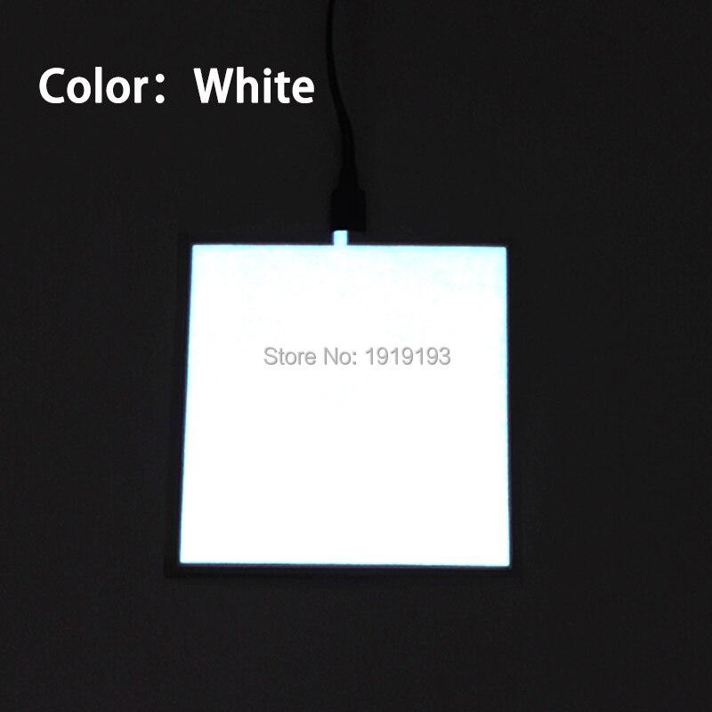 1PCS 6 färg 10X10CM EL-ark LED EL Panel av DC5V USB-drivrutin för - Festlig belysning - Foto 4