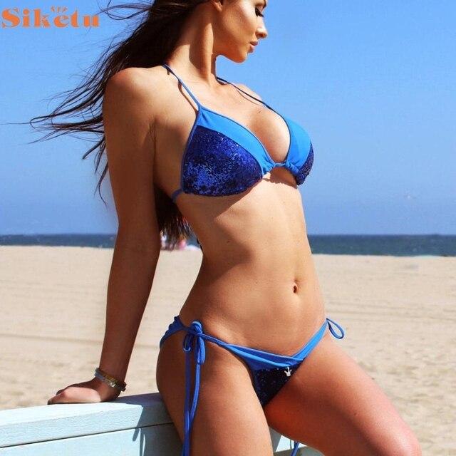 Nuovo sexy costumi da bagno delle ragazze bikini costume - Ragazze spiate in bagno ...
