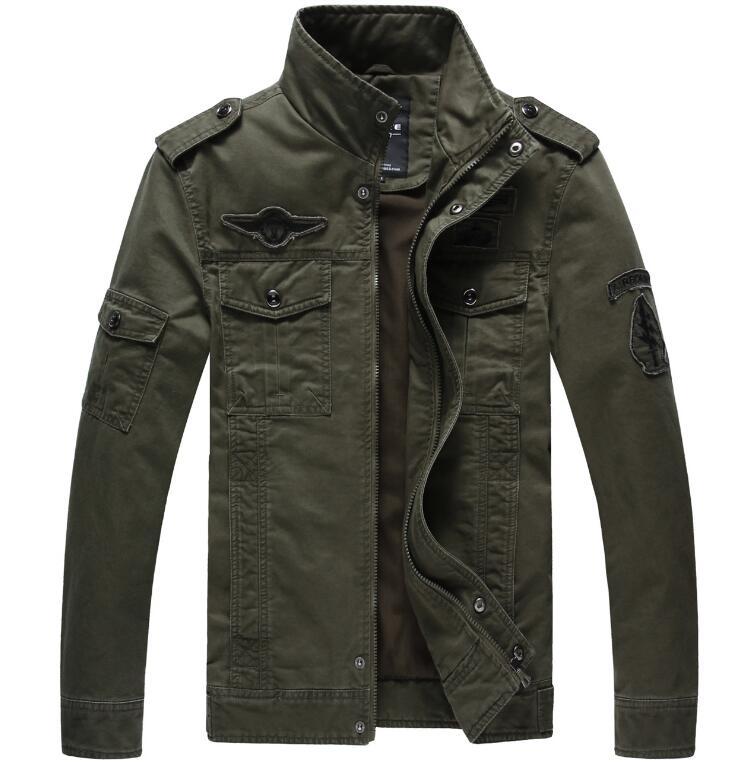 Blouson aviateur hiver manteau veste hommes militaires vêtements chauds