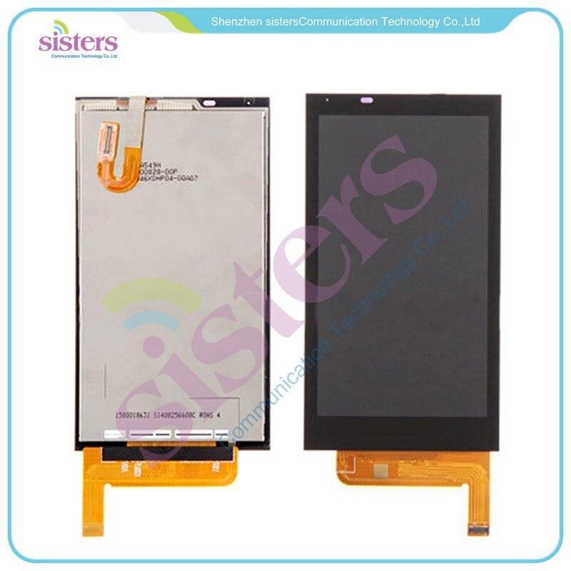 5 unids/lote al por mayor de alta calidad táctil LCD de pantalla táctil digitalizador para HTC Desire 610 envío gratis
