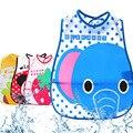 Padrões bonitos Dos Desenhos Animados Do Bebê Macio Bib Burp Cloths Babadores Para Bebês À Prova D' Água Dos Desenhos Animados Para Crianças Cuidados de Alimentação Auto