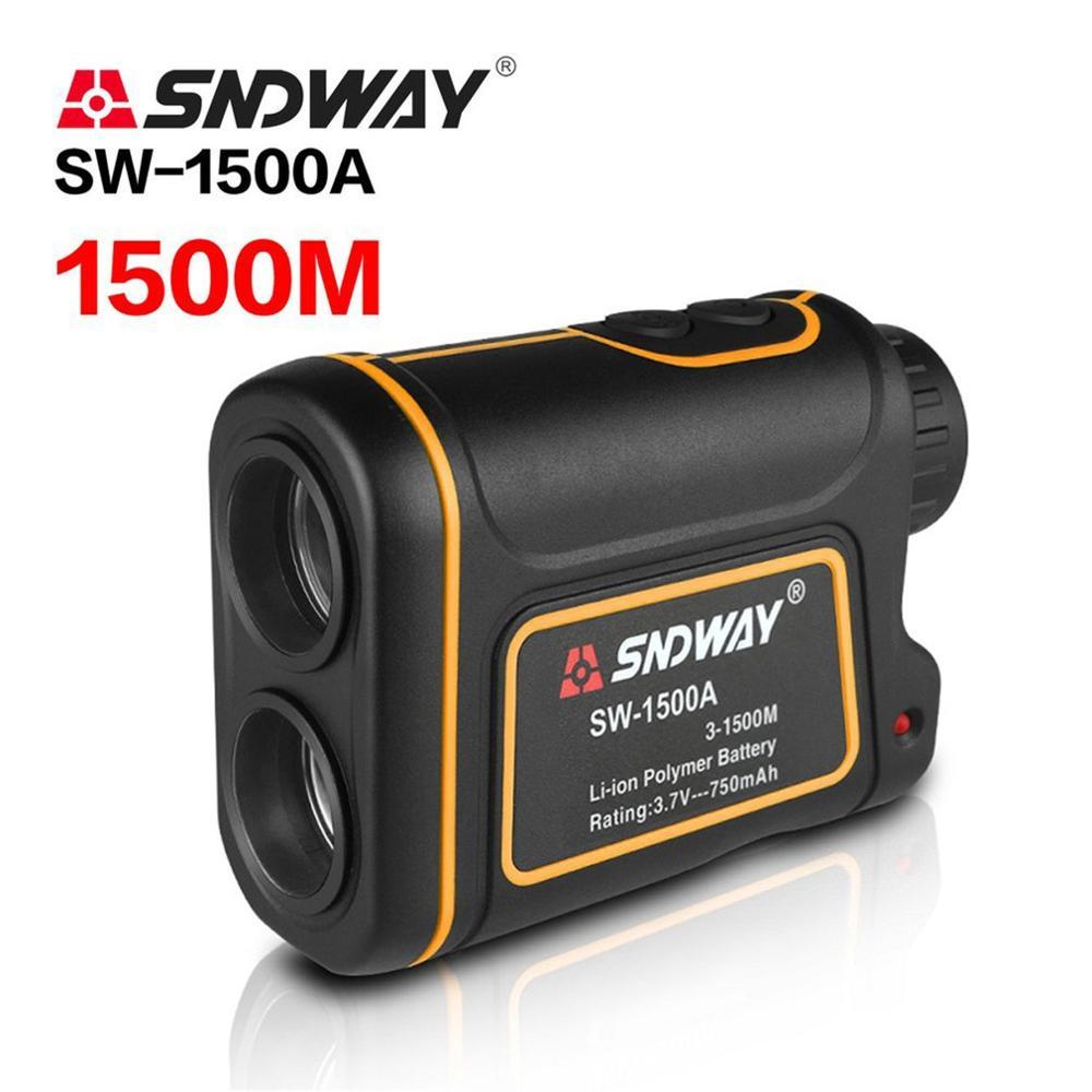 SNDWAY SW-1500A Monokulare Teleskop Laser-entfernungsmesser 1500m Trena Laser Abstand Meter Golf Jagd laser Range Finder