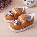 Crianças Dos Miúdos Do Bebê Meninos Sapatos Não-Slip Ninas Recém-nascidos Infantil Toddlers Primeiros Caminhantes Bebes Zapatos De Couro Da Marca
