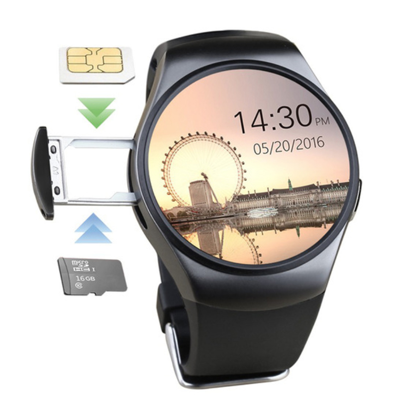 ARYAGO Smart Watch SmartWatch KW18 Bluetooth 4.0 Wearable device with Heart Rate Monitor Sleep monitor MT2502C for iOS & Android f2 smart watch accurate heart rate statistics i bluetooth watch compatible android smart wearable ios system