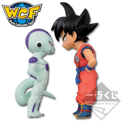 NEW hot 7cm 2pcs/ Dragon Ball Frieza Son Goku Kakarotto On the visual action figure toys collector Christmas gift doll