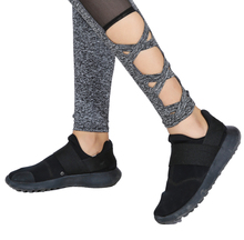 Autumn Winter Mesh Workout Leggings