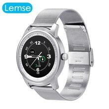 Lem1 bluetooth smartwatch full hd ips-bildschirm wasserdichte bluetooth 4,0 smart watch fitness tracker für iphone ios android-handy