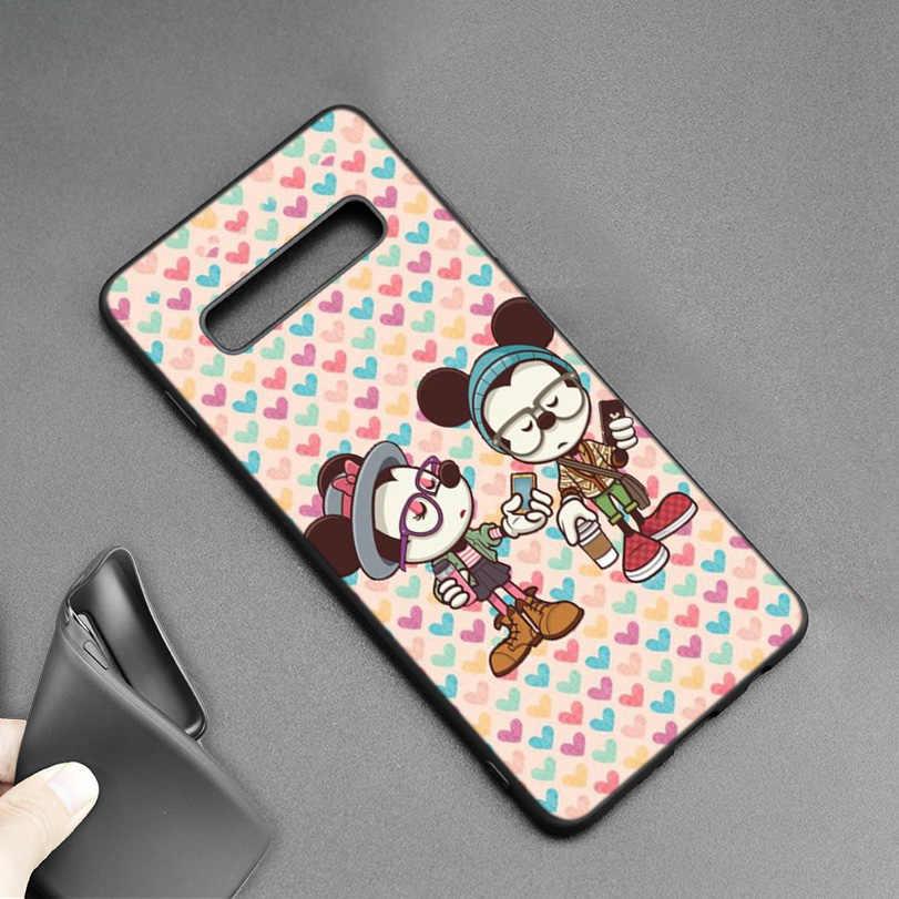 Микки и Минни Маус Мышь Рождественская силиконовая чехол для samsung Galaxy A6 A8 J4 J6 плюс A7 A9 J8 2018 Note 9 8 Сверхъестественное для мобильного телефона