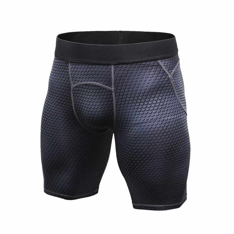 S-2XL Uomini di Estate Sport All'aria Aperta Corsa e Jogging Quick Dry Shorts PALESTRA Compressione Stretto Traspirante Anti-sudore Shorts