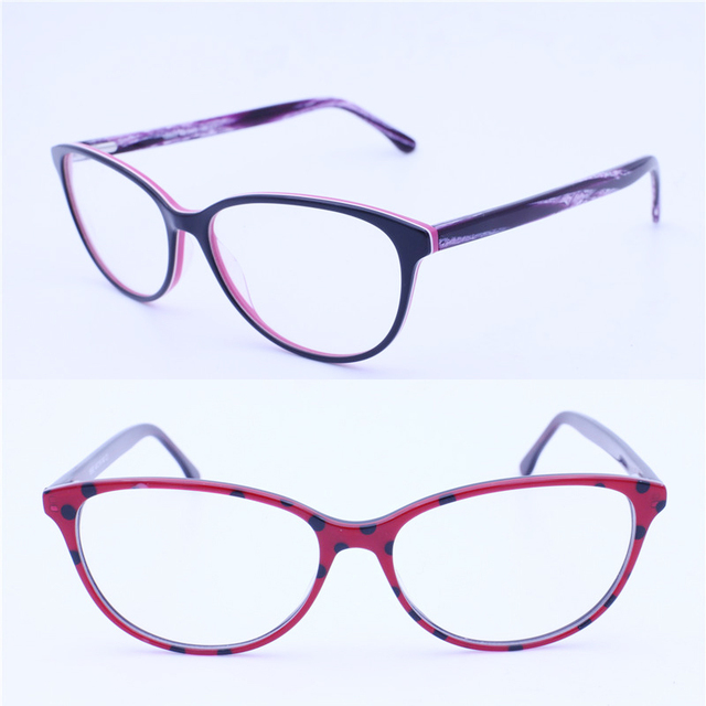 retailsale 18993 full-rim high classic flexi spring hinge girl vintage unique leopard print acetate optical frames new arrival