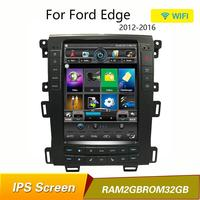 Quad Core Android 6.0 Car GPS Navigation Stereo Radio for Ford edge 2011 2012 2013 2014 taurus wifi mirrorlink a/c bluetooth