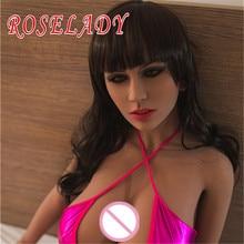 Top Quality 156cm Lifelike Real Silicone font b Sex b font font b Dolls b font