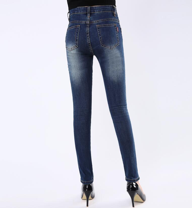 34 Delgados Cintura Jeans Cultivar Mostrar Mujeres Moda Stretch De Azul 2019 Una Alta Caliente Pantalones Primavera Las 26 Pies Nuevas Moral d7H4qd
