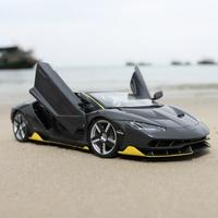 For Lamborghini LP770 4 Sports Car Model 1:18 Simulated Alloy Car Toy Home Decoration Non remote Control Vehicle Toy