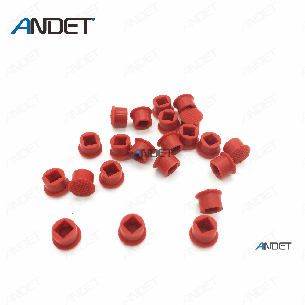 Image 2 - 100 PCS for Lenovo ThinkPad TrackPoint Red Ball Mouse Track Pointer Caps Soft Dome Pointing Cap for T480 T470 T460 T450 Keyboard-in TrackPoint Caps from Computer & Office on