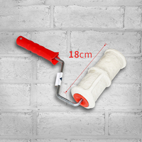 20*7cm Pattern Paint Roller Polyurethane Paint Tool Sets High Strength Environmental Protection Stamp Roller Decorative Wall Use