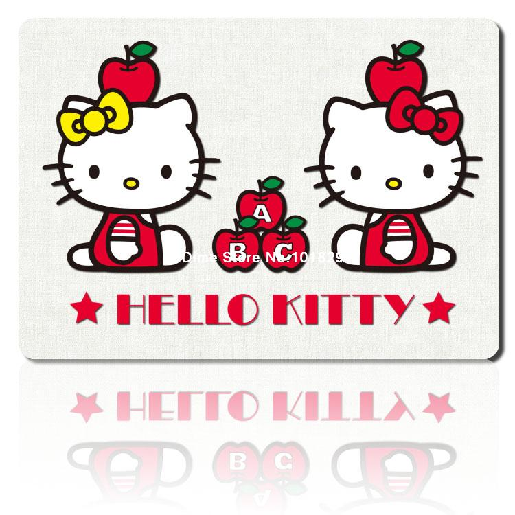 hello kitty mouse pad HD pattern mousepad laptop anime mouse pad 2016 new notbook computer gaming mouse pad gamer play mats