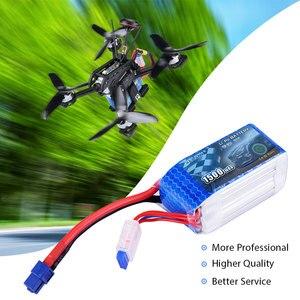 Image 5 - SEASKY 4S LiPo הסוללה 14.8V 1500mAh 75C RC סוללה lipo 14.8V סוללה XT60 bateria lipo עבור FPV drone