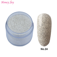 28g Box 24 Silver Clitter Easy To Use Dip Powder Nails Dipping Nails Long Lasting Nails