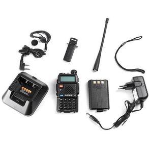 Image 5 - 128CH 5W VHF UHF 136 174 MHz & 400 520 MHz 2 Chiều Đài Phát Thanh BF UV5R Chuyên Nghiệp CB Đài Phát Thanh Bộ Đàm Baofeng BFUV5R