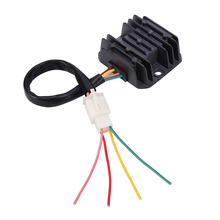 4 Wires Voltage Regulator Rectifier Motorcycle Boat Motor Mercury ATV GY6 50 150cc Scooter Moped JCL NST TAOTAO