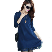 1PC Lace Knitted Pullover Sweater Women Sweaters And Pullovers Spring Autumn Winter Bottoming Women Tops ZZ3520
