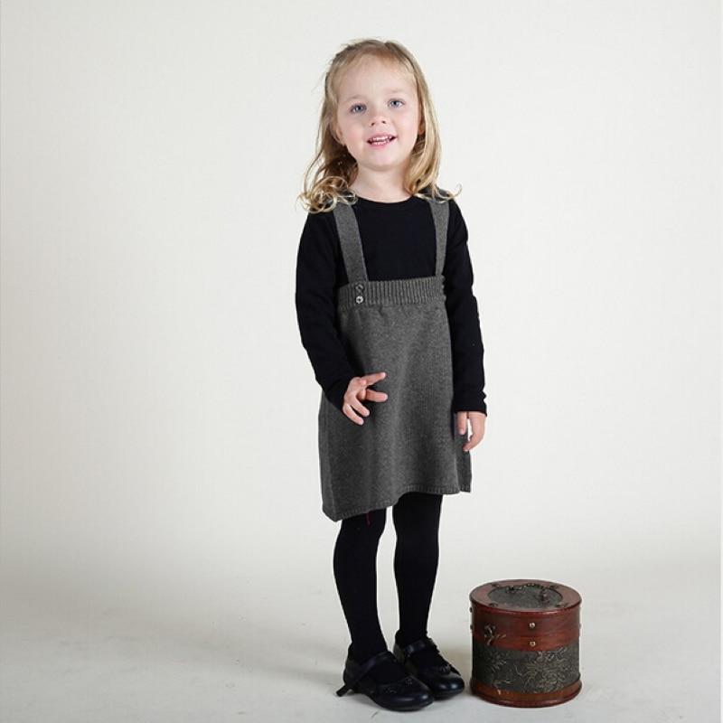 Детские трикотажные хлопковые юбки весна 2016 новый ребенок комфортно чистый цвет чулок юбки детская Одежда девочек мода наряд