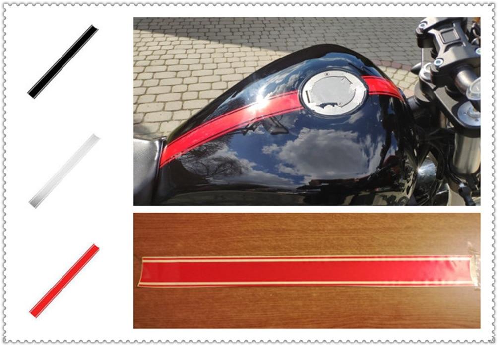 50cm Car Motorcycle Shape Sticker DIY Fuel Tank Cap Reflective For YAMAHA FZ-09 MT-09 SR FZ6 FAZER FZ6R FZ8 MT-07 FZ-07