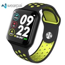 Wearpai F8 Smart Horloge mannen IP67 Waterdichte Wearable Apparaat Hartslagmeter Kleur Display Sport horloges Voor Android IOS