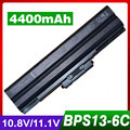 6 celdas de batería del ordenador portátil para sony vgp-bps13 vgp-bps13a/b vgp-bps13 vgp-bps21 vgp-bps21b vgp-bps13b/b vgp-bps13a/q vgp-bps13b/b