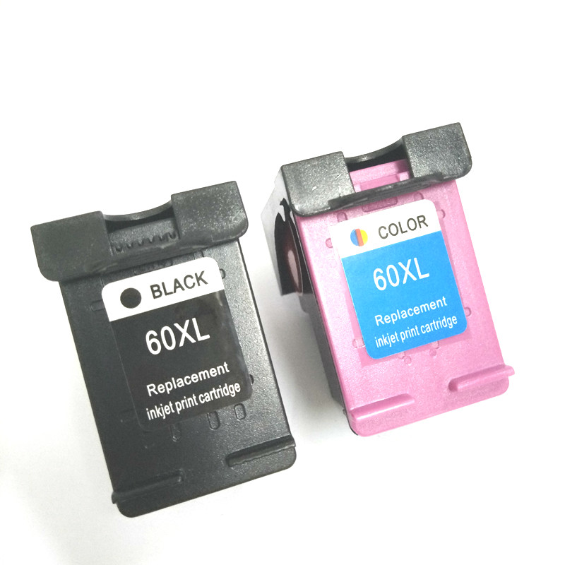 Einkshop compatible for hp 60 60 xl Ink Cartridge for HP Deskjet F2480 F2420 F4480 F4580 D2660 F4280 PhotoSmart C4680 printer in Ink Cartridges from Computer Office