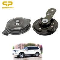 Elektr Disc Horn Lautsprecher 12V Bass Auto Sirene Lautsprecher 105db Sound Claxon Horn für Toyota Auto Horn RAV4 Corolla camry Vios REIZ