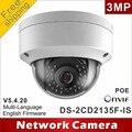 Frete grátis DS-2CD2135F-IS substituir DS-2CD2132F-IS e câmeras de rede IP cúpula poe DS-2CD2132-I H265 áudio IPC CCTV